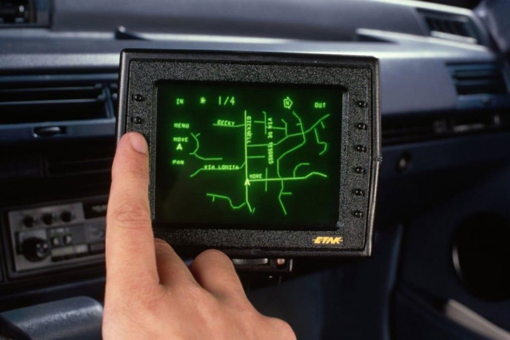 Навигатор ETAK, 1985.