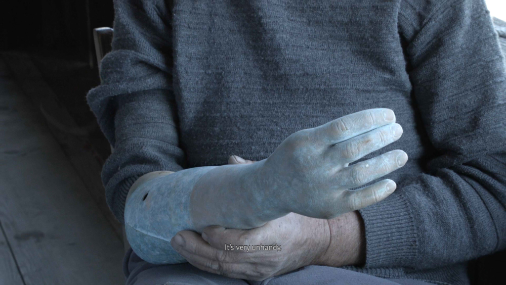 Giorgi Gago Gagoshidze, The Invisible Hand of My Father, 2019, film still, courtesy the artist
