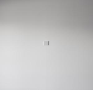 Анатолий Осмоловский, «Критика состояния стен», 2001. Дерево, лак. Вид инсталляции на выставке «Схождение параллелей» в Доме с тремя глазами в Венеции, 2013. Предоставлено фондом v-a-c.