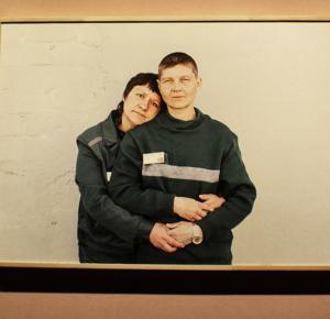 Елена Аносова, «Отделение», 2014. Фрагмент, вид инсталляции на выставке «Немосква не за горами». Фото work4food project.